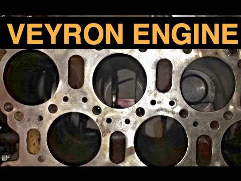 w16 engine bugatti veyron explained youtube