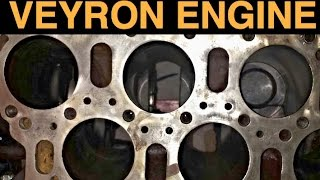 W16 Engine - Bugatti Veyron - Explained