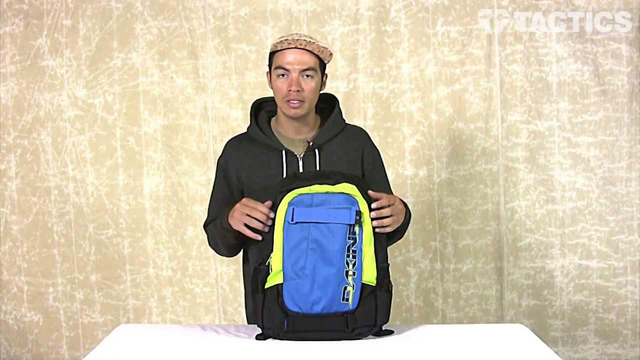 DAKINE Option Backpack Review - Tactics.com - YouTube