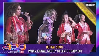 De Fam, Stacy - Panas, Khayal, Medley Mi Gente & Baby Boy | #ABPBH32