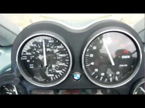 BMW 2004 K1200GT - Zero to 100 mph to zero