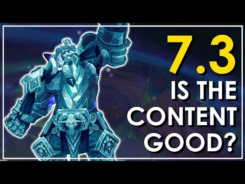 Rounding Up Patch 7.3: Yes Argus Is  Shiny, But Is The Content Good?
