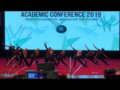 MIVG'18 Aerodance performance for UITM Academic Conference 2019 in DATC, UiTM Shah Alam