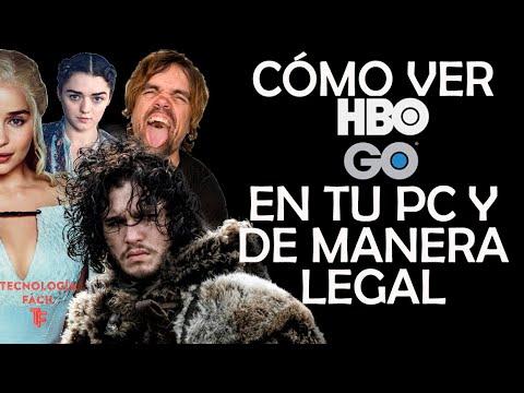 Cómo Ver HBO En Tu Computadora Sin Programas Y De Manera LEGAL!