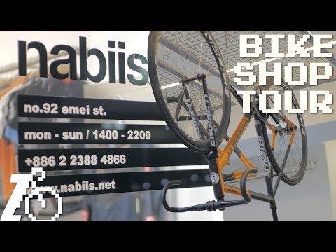 10K ft. of Elevation Fixed? No Biggie | Nabiis Fixed Gear Bike Shop Tour