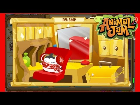Animal Jam Game Play / Minigames and Dressing Up Pets
