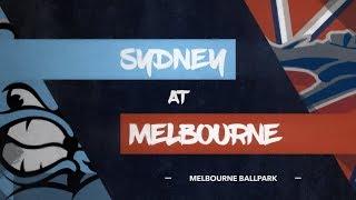 LIVE: Sydney Blue Sox @ Melbourne Aces, R5/G1 thumbnail