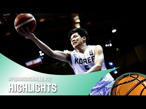 Korea v Chinese Taipei - Quarter Final Highlights - FIBA Asia Challenge 2016