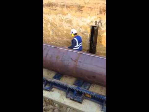 2014 American Augers 48/54-900 NG - Equipment Demonstration