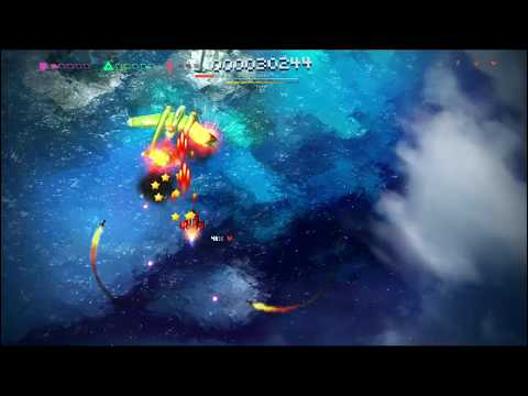 Sky Force Anniversary (PS Vita) Stage 01 - Nightmare Mode - 100% Enemies Destroyed