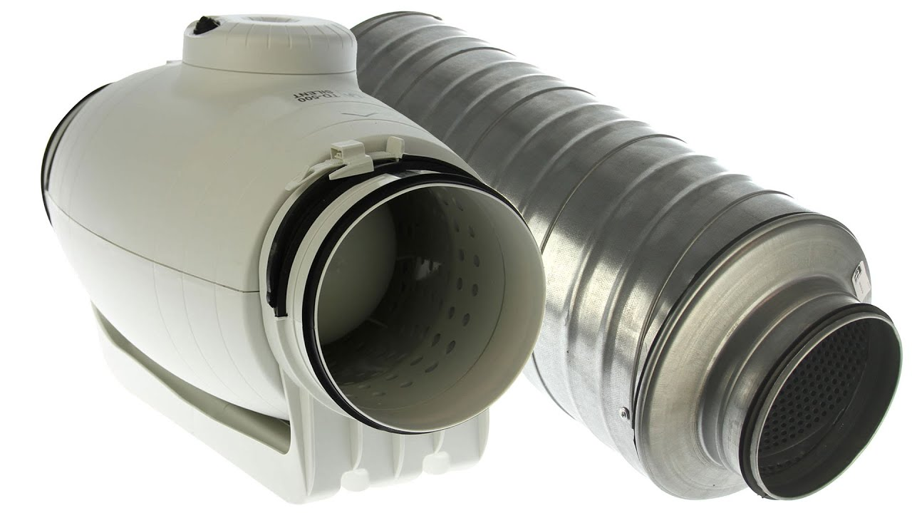 Buisventilator 150 Mm Noise Level Test Inline Fan S P Td 350 125 Silent With Silencers