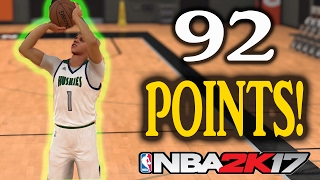 recreating lamelo ball s 92 point game in nba 2k17