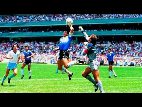 Momento Mundial: Diego Armando Maradona y la 'Mano de Dios'