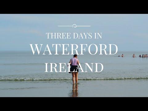 TRAVEL VLOG   3 days in Waterford, Ireland