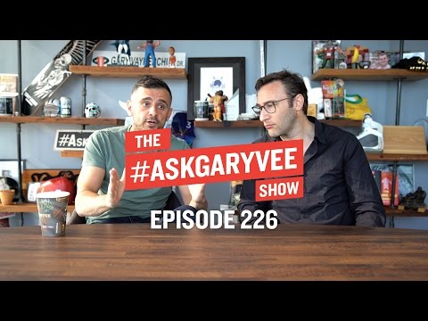 Thumbnail: Simon Sinek, Your Why vs the Company's Why & Always Being Yourself | #AskGaryVee Episode 226
