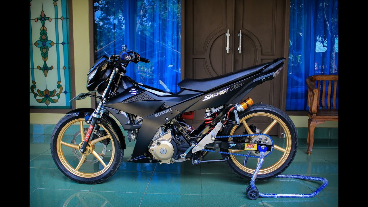 Modifikasi Satria Fu Fi Semi Road Race Youtube