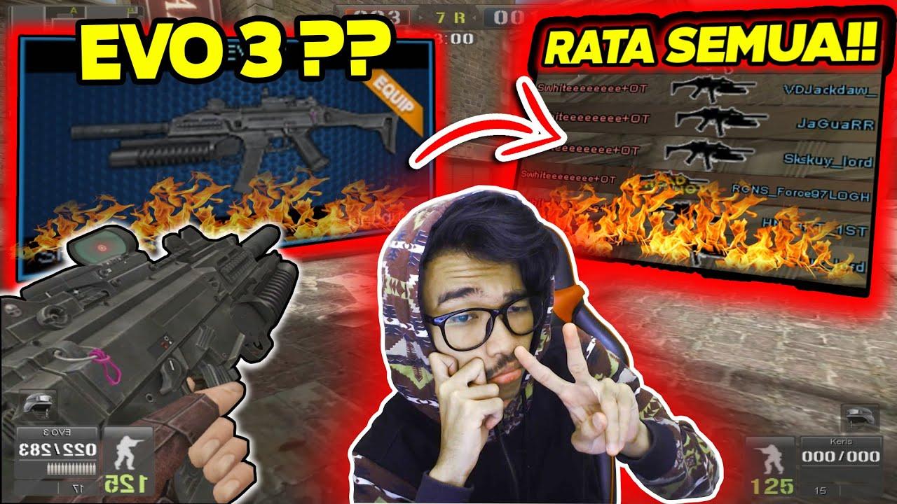 SENJATA EVO OVER POWER?! SEMUANYA RATA LANGSUNG!! // Gameplay Point Blank Zepetto Indonesia