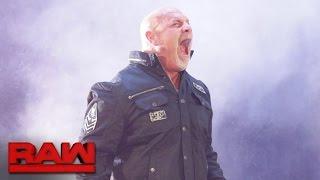 Goldberg zum ersten Mal seit 12 Jahren wieder bei WWE: Raw, 17. Oktober 2016
