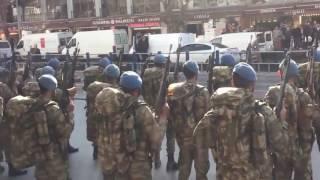 Kayseri Komandoları Şehre İndi  BiR ÖLüR Bin Diriliriz