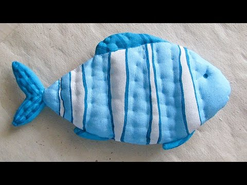 How To Make A Decorative Toy Fish - DIY Crafts Tutorial - Guidecentral