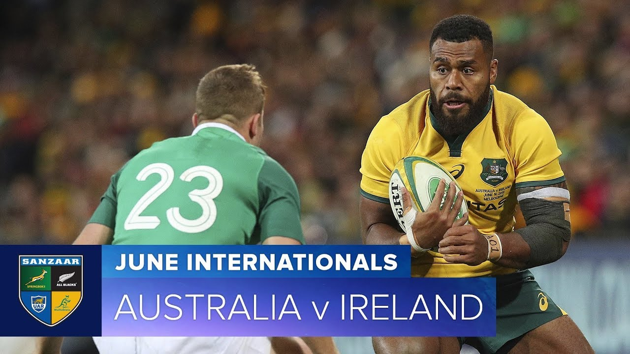 2018 June Test Series:   Third Test – Australia v Ireland