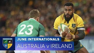 2018 June Test Series: Third Test – Australia v Ireland