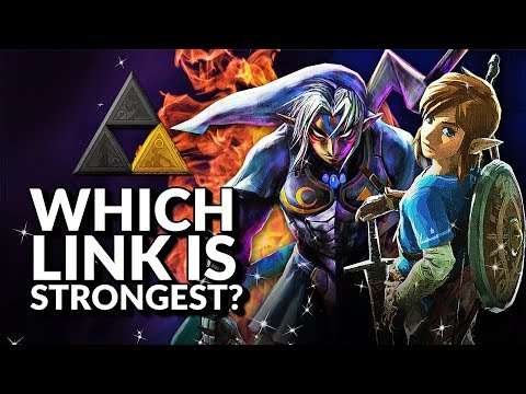 Which Link is strongest? (Ranking the Links from Legend of Zelda)