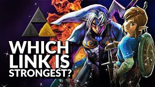 Which Link is strongest? (Ranking the Links from Legend of Zelda) thumbnail