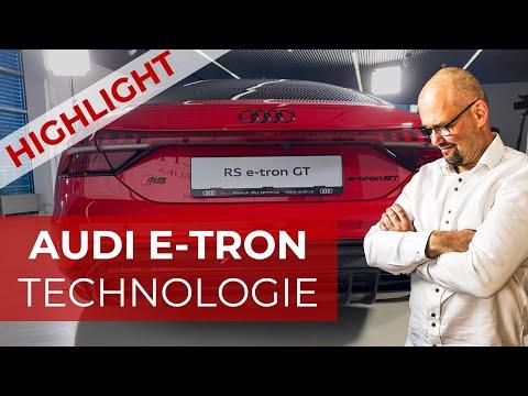 AUDI ETRON GT TECHNOLOGIE