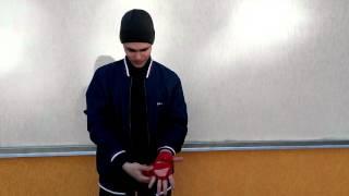 Как правильно наматывать боксерские бинты
