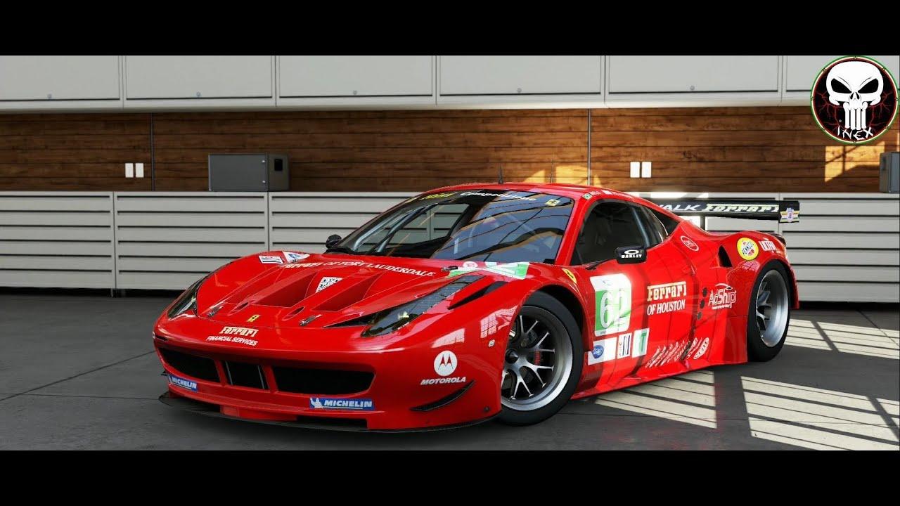 Ferrari 458 Italia GT2 - YouTube