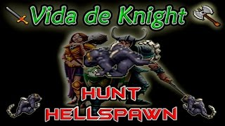 Hunt Knight Hellspawn #1 Lvl 80/90+ - Exp 170 K/h (Premmy) - AXB Tibia