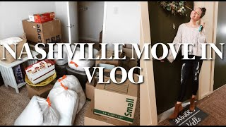 MOVING INTO MY FIRST APARTMENT : Nashville apartment move in vlog