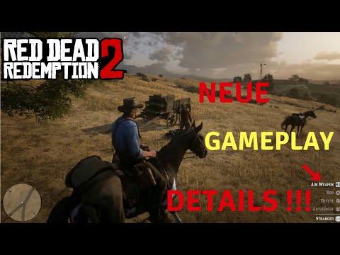 RDR2 Gameplay Trailer News & Details (Deutsch)