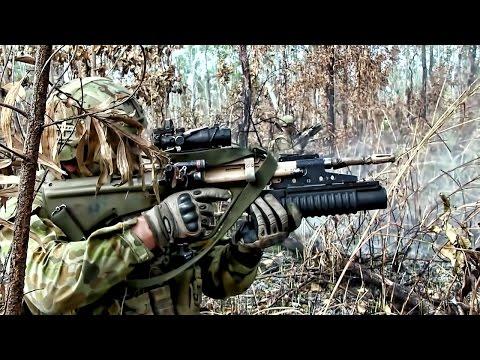 Australian Army Live-Fire Combat Training
