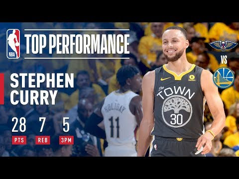 Stephen Curry returns, Golden State Warriors take 2-0 lead on Pelicans: NBA playoffs 2018