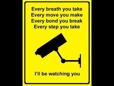 DHS We'll be watching you ; - YouTube