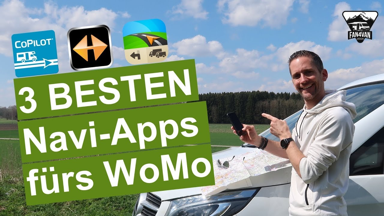 Beste Navi App fürs Wohnmobil - 8 Apps im Überblick