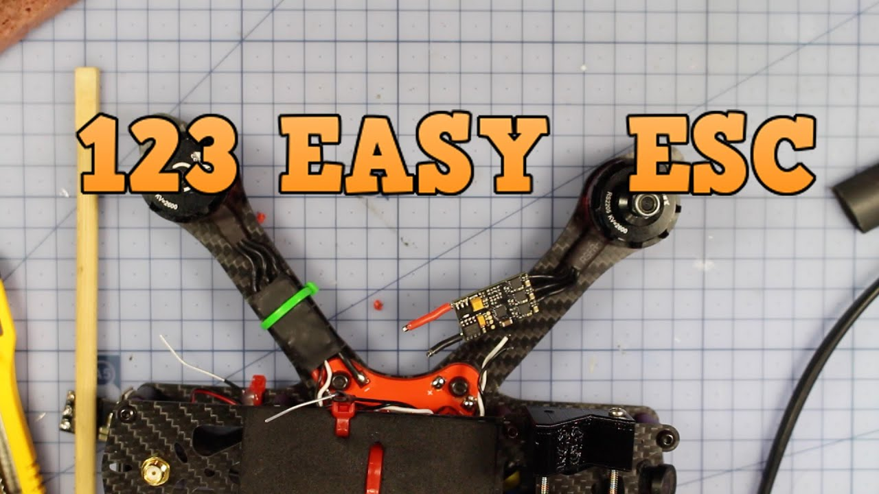 How to swap/change ESC the easy way. Drone ESC r…