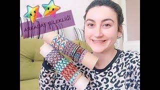 how to knit friendship bracelets- waxed linen thread braceled