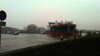 Ship launch self propelled cutter dredger