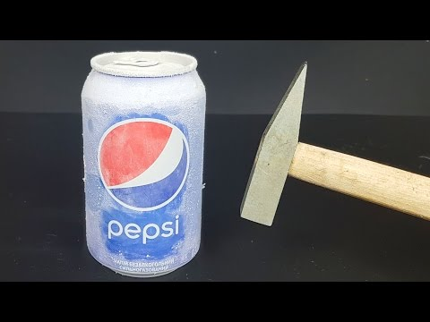 Science Experiment LIQUID NITROGEN vs PEPSI