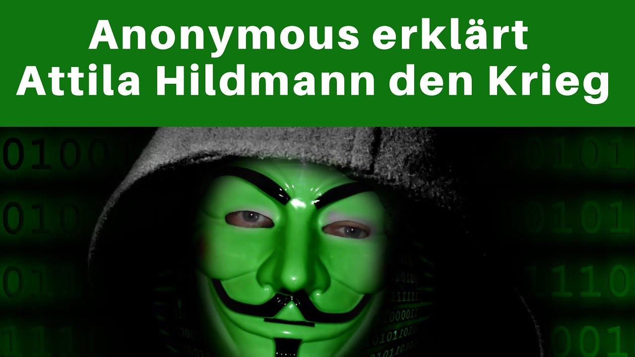 Attila Hildmann Anonymous