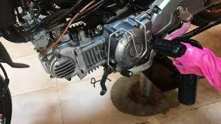 Tẩy rửa dọn đầu nòng ốc vít lốc máy xe YAMAHA SỈIUS/0968841439