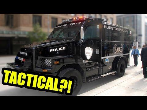 WHY ARE COPS SO MILITARISTIC?!