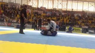 "Alex Aparecido ""Biloca"" x Erberth Santos - Semi-final Brasileiro de Jiu-Jitsu"