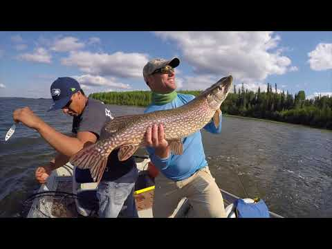 Stanley Mission Sask Fishing Trip