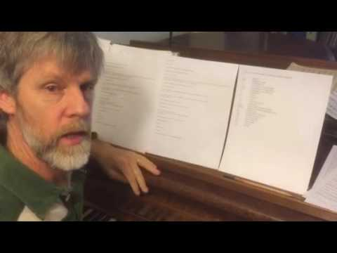 Prepare sheet music for your audition accompanist