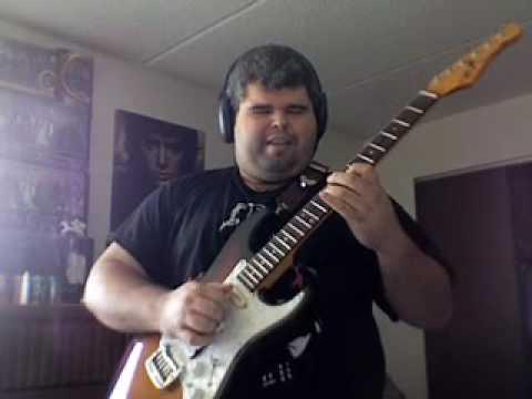 Fender Blues Jr. vintage noiseless pickup test demo Willybooger Slow Blues