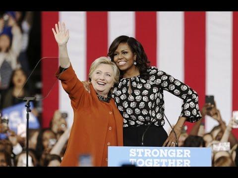 Full Speech: Hillary Clinton & Michelle Obama Rally at Winston-Salem, NC